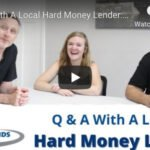 q and a hard money lending